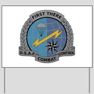 Combat Controller Yard Sign