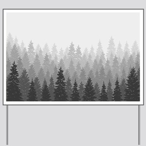 Gray Forest Yard Sign