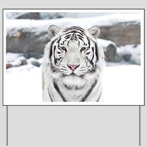 White Tiger Yard Sign