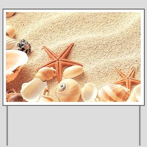Seashells Yard Sign