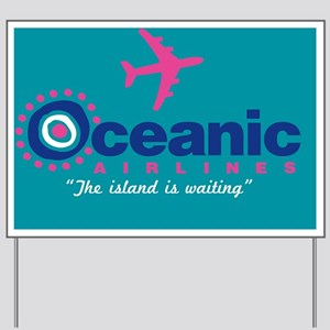 Shower Oceanic2 Yard Sign