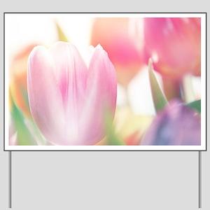 Beautiful Tulips Yard Sign