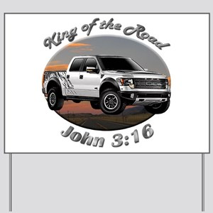 Ford F-150 Yard Sign