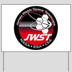 JSWT NASA Program Logo Yard Sign