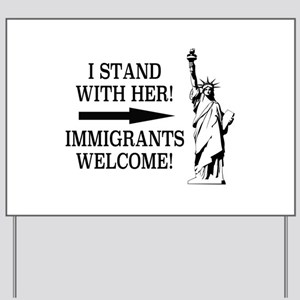 Stand with Liberty Yard Sign