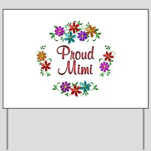 Proud Mimi Yard Sign
