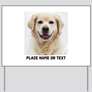 Dog Photo Customized Yard Sign