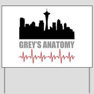 Grey's Anatomy Seatle Yard Sign