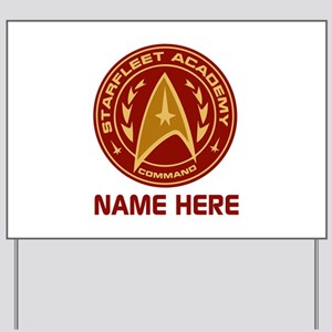 Starfleet Academy Personalized Yard Sign