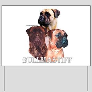 Bullmastiff 1 Yard Sign