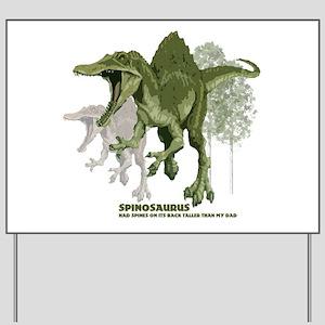 spinosaurus Yard Sign