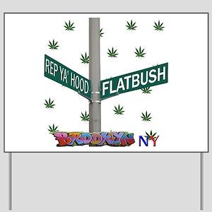 REP FLATBUSH Yard Sign