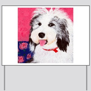 dog_oes_q01 Yard Sign