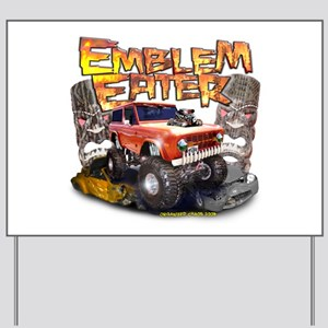 Emblem Eater Yard Sign