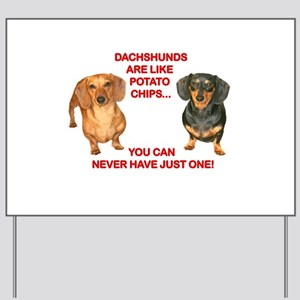 Potato Chips Yard Sign