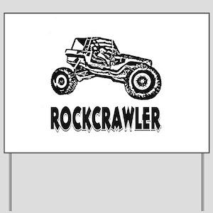 Rock Crawler Yard Sign