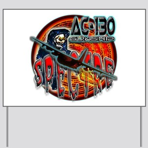 USAF AC-130 Spectre Gunship Yard Sign