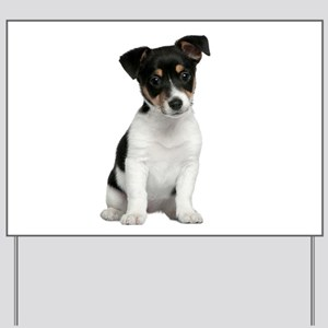 Jack Russell Terrier Yard Sign