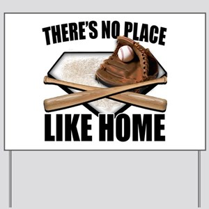 NoPlaceLikeHome copy Yard Sign