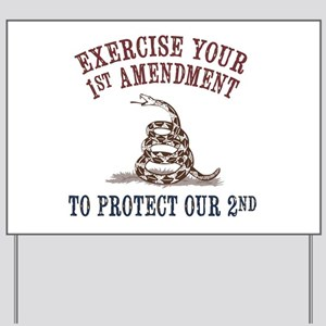 Protect Our 2nd Yard Sign