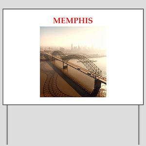 memphis Yard Sign