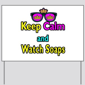 Crown Sunglasses Keep Calm And Watch Soaps Yard Si