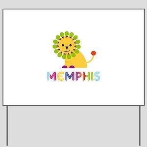 Memphis Loves Lions Yard Sign