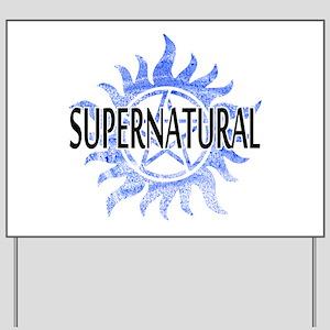 Supernatural Symbol Yard Sign