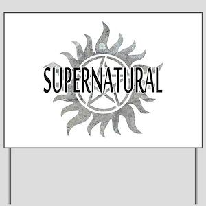 Supernatural Yard Sign