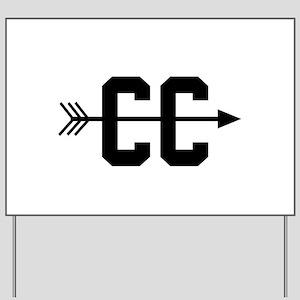 Cross Country CC Yard Sign
