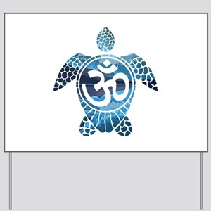 Ohm Turtle Yard Sign