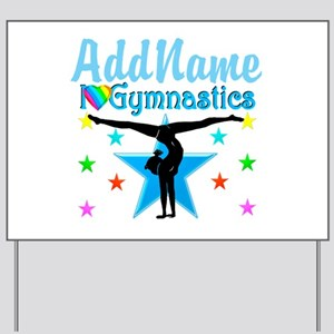 GYMNAST POWER Yard Sign