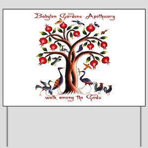 Babylon Tree of Life Yard Sign