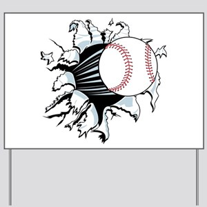 Breakthrough Baseball Yard Sign