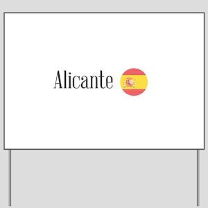 Alicante Yard Sign