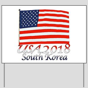 Pyeongchang, South Korea Yard Sign