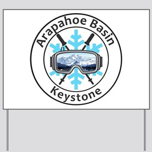 Arapahoe Basin - Keystone - Colorado Yard Sign