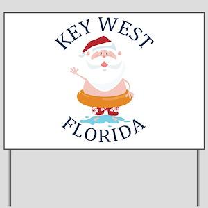 Summer key west- florida Yard Sign