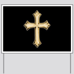 Cross (style A) Yard Sign