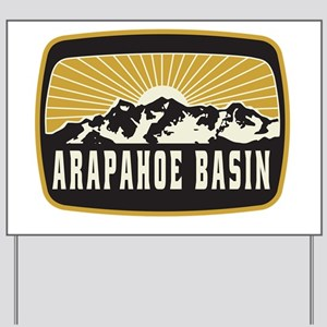 Arapahoe Basin Sunshine Patch Yard Sign