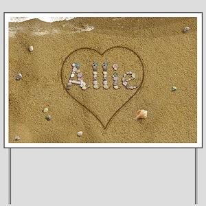 Allie Beach Love Yard Sign