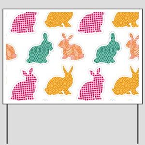 bunny Yard Sign