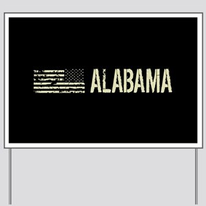 Black Flag: Alabama Yard Sign