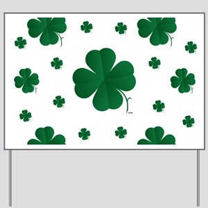 Shamrocks Multi Yard Sign