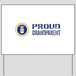 USAF: Proud Grandparent Yard Sign