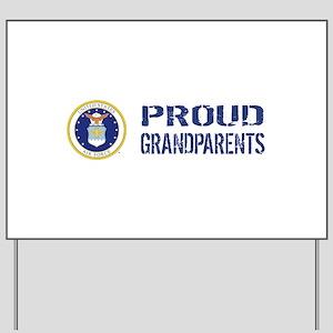 USAF: Proud Grandparents Yard Sign