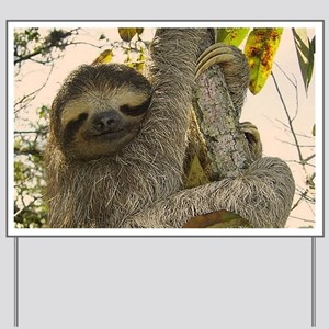 Sloth Yard Sign