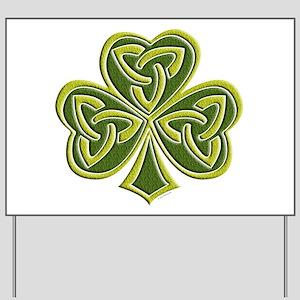 Celtic Trinity Yard Sign