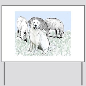 Great Pyr Pastoral Yard Sign