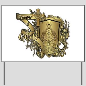Armor of God Yard Sign